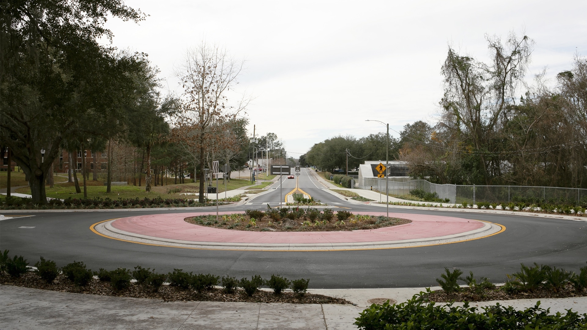 UF Radio Road / Museum Drive Roundabout